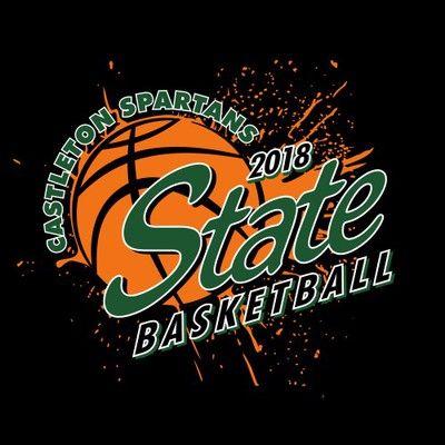 Three Color State Basketball Tee Shirt Design With Ink Splatter Basketball Basketball Statebasketball Basketballtees Basketballsh Basketball T Shirt Designs