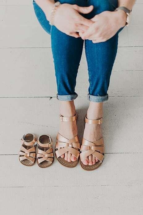 RESTOCKED* Salt Water Sandals-Rose Gold