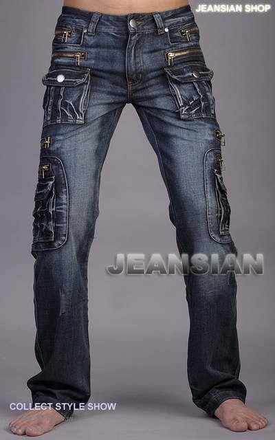 Tienda Online Nueva Jeansian Marca Del Disenador Del Mens Jeans Pantalones Pantalones De Mezclilla Azul W30 32 34 En 2020 Pantalones De Mezclilla Mezclilla Pantalones
