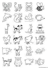 Resultado De Imagen Para Abecedario De Animales Para Colorear E Imprimir Coloring Pages Coloring Pictures Doodle Drawings