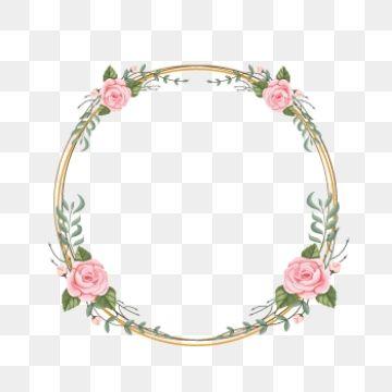 Wedding Flower Frame Flower Frame Flower Frame Png Vector Flowers