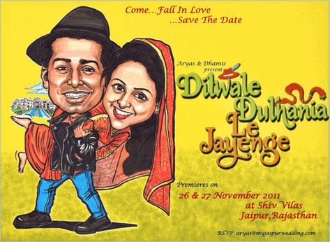 Most Creative And Unique Save The Date Invitation Ideas For Indian Couples - BollywoodShaadis.com