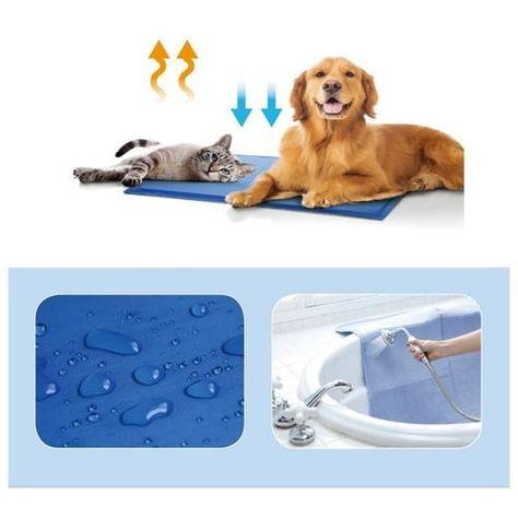 Summer Pet Mat Dog Cat Cool Ice Mat Pad Cool Dog Beds Pet