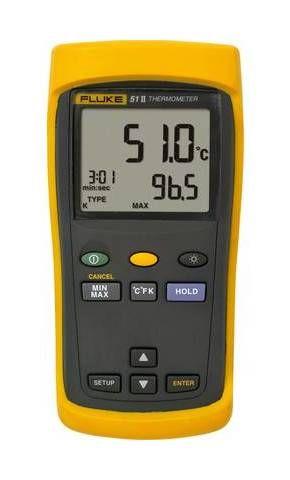 Thermometre Fluke 51 Ii Y415951 1281142 0095969077651 Digital Thermometer Digital Electrical Maintenance