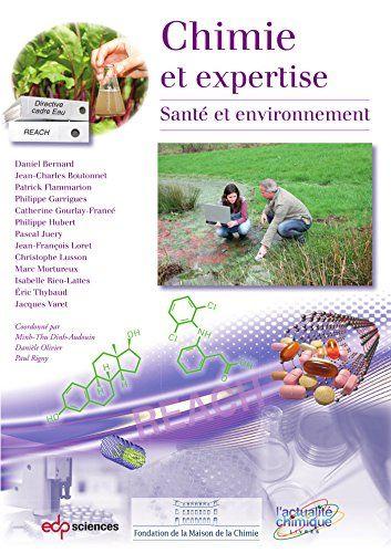 Chimie Et Expertise Sante Et Environnement Chimie Et Pdf Gratuit Telecharger Livre Books Biochemistry Chemistry