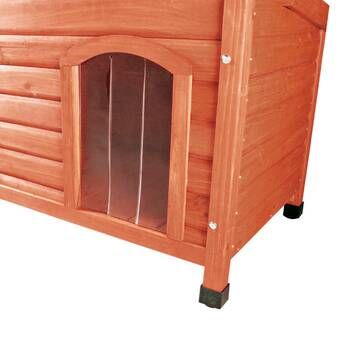 Marciano Plastic Door For Flat Roof Dog House Dog House Heater