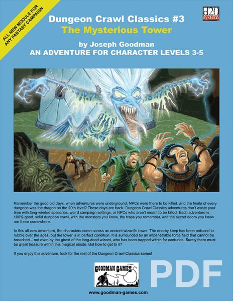 Dungeon Crawl Classics #3: The Mysterious Tower – PDF