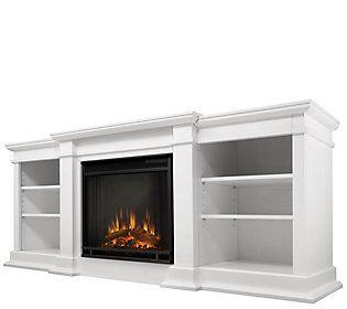 Real Flame Fresno Entertainment Indoor Electricfireplace Qvc Com