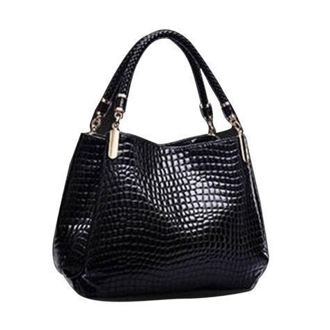 8bf4cc19ec Fashion Crocodile Bags Famous Designer Brand Bag Women Leather Handbags  Ladies Hand Bag Purse Bolsa Feminina Bolsa Sac Crocodile
