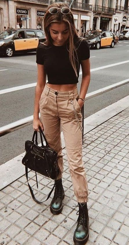 Trend Fashion, Teen Fashion Outfits, Edgy Outfits, Casual Fall Outfits, Mode Outfits, Retro Outfits, Classy Outfits For Teens, Casual Winter, Style Fashion