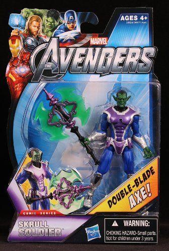 Marvel The Avengers Comic Series Skrull Soldier
