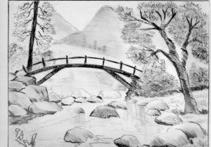 Nature S Pencil Drawing Sketch Nature Drawing At Getdrawings