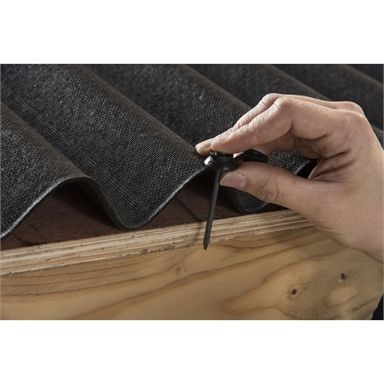 Coroline Black Corrugated Bitumen Roof Sheet 2m In 2020 Bitumen Roof Roofing Sheets Corrugated