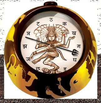 Shiva Alarm Clock The Unemployed Philosophers Guild Clock Shiva Wall Clock