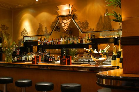 Rogano Art Deco restaurant and oyster bar, Glasgow - martini with ...