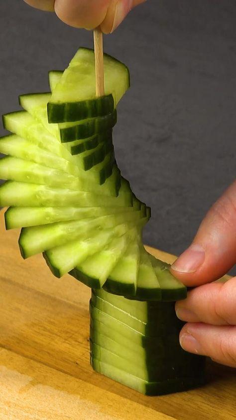 Obst und Gemüse schnitzen -  #