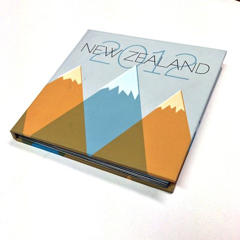 Personal Project: New Zealand Photo Album by Ariel Tyndell, via Behance
