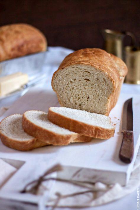 Classic Homemade White Bread Urban Bakes Recipe Homemade Recipes Bread Recipes Homemade Homemade Bread Recipes Easy