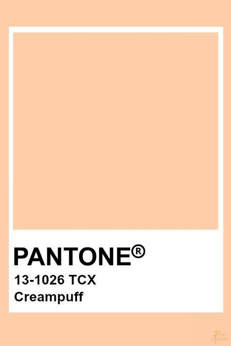 Pantone Creampuff