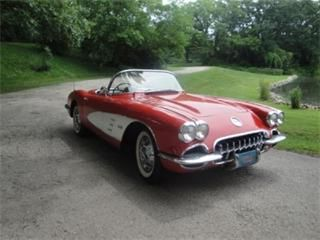 Beauty Red And White American Muscle Cars For Sale Photo Of