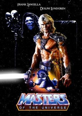 Masters of The Universe 1987 Canvas Movie Poster Wall Art Print Sc-Fi Actio Film