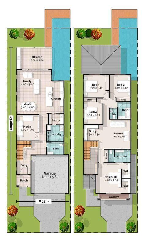 Plano De Casa De Dos Pisos Gratis Planos De Casas 10x20 Planos De Casa De Dos Pisos Casas De Dos Pisos