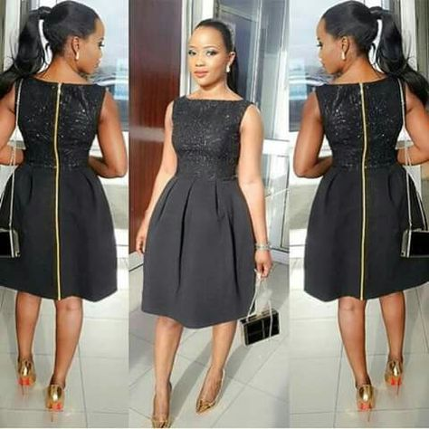 768741475f4 Black dress for church