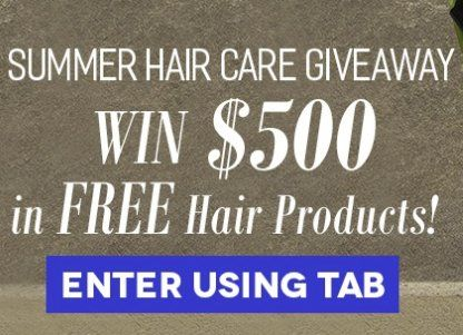 Win $500 00 worth of Aweganics hair care products  3 winners