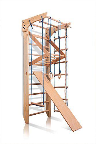 Swedish Ladder Climbing Wall Bars Wall Pull Up Bar /& Ladder Home Gym Playground