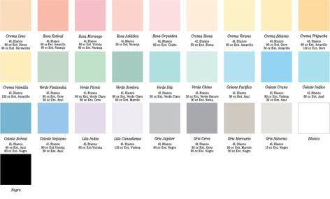 Alcantara Dorico Esmalte Sintetico Mate Carta De Colores Pintura Colores Pintura Pared Colores Para Pintar Casas