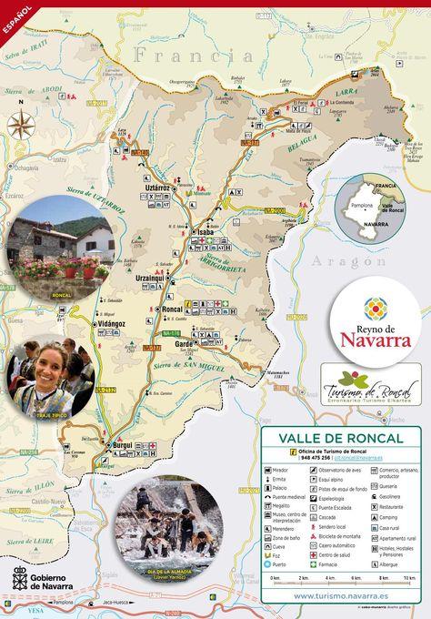 Mapa Selva De Irati.Mapa De Roncal 1 En 2019 Selva De Irati Turismo Rural Y