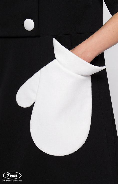 Pintel™ Store — VIVIANE — платье-пальто с капюшоном и дизайнерской отделкой для девушек