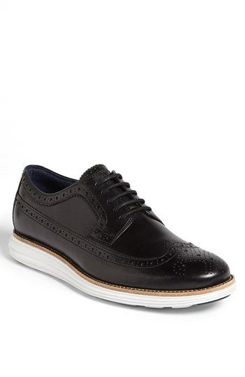 Cole Haan LunarGrand Wingtips - Now in Leather for Men and Women | Cole haan,  Men's fashion and Dapper