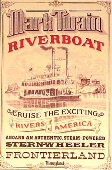 Image result for inside mark twain riverboat poster