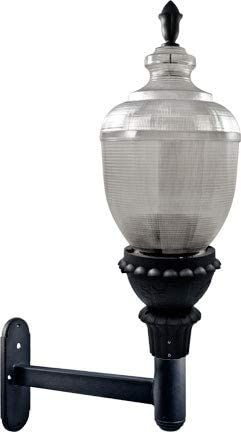 Dabmar Lighting Gm696 B 150 Watt Metal Halide Mogul Base 120 V Clear Acorn Wall Fixture With Ul Listed Wire Amp Cable44 Bla In 2020 Wall Fixtures One Light Fixtures