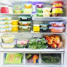 Comment Optimiser La Temperature Et Le Rangement Dans Son Frigo Healthy Fridge Refrigerator Organization Fridge Organization