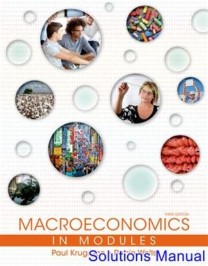 Macroeconomics In Modules 3rd Edition Krugman Solutions Manual Solutions Manual Test Bank Instant Download Macroeconomics Economics Textbook Economics Books
