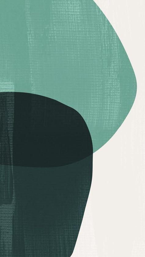 Geometric Art Set, Teal Art Prints, Seafoam Green Mid Century Modern Art Set, Dark Green Abstract Prints, Mint Shapes Print, Aqua Prints Set  | Available @ The Peoples Prints @ www.etsy.com/shop/thepeoplesprints