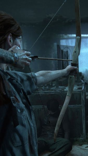 The Last Of Us Part 2 Ellie Bow And Arrow 4k 3840x2160 Wallpaper The Last Of Us The Last Of Us2 The Lest Of Us