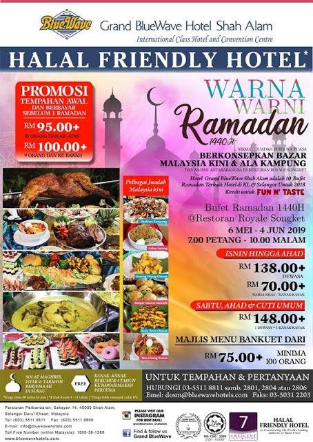 Ramadan Buffet 2019 Grand Bluewave Hotel Shah Alam Selangor Food Blog Best Street Food Malaysian Food