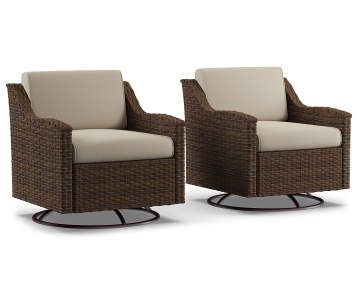 Wilson Fisher Augusta Small Space Patio Glider Chair Set Big Lots Patio Furniture Collection Patio Furnishings Outdoor Chairs