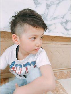 キッズカット ツーブロック 子供 髪型 男の子 ツーブロック キッズ