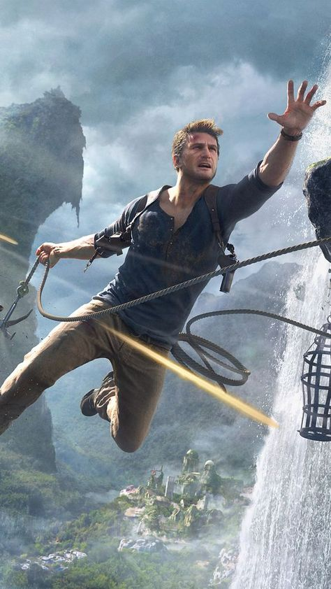 Video Game Uncharted 4: A Thief's End Uncharted Nathan Drake Mobile Wallpaper