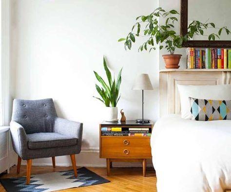 Camera Da Letto Vintage Moderno : 20 beautiful vintage mid century modern bedroom design ideas home