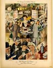 ORIGINAL 1941 Vintage French National Lottery Poster LOUIS FERRAND LINEN BACKED #Vintage