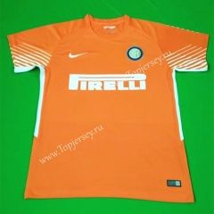 618123539 2017 18 Inter Milan Goalkeeper Orange Thailand Soccer Jersey AAA