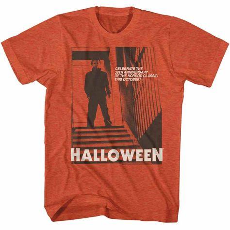 Halloween T-Shirt 39th Anniversary Antique Orange Tee - Medium / Antique Orange