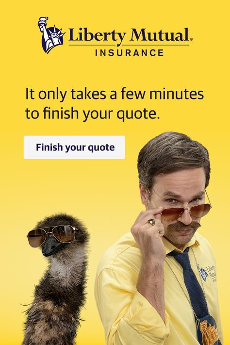 You Could Save 782 With Liberty Mutual Finish Your Quote Today