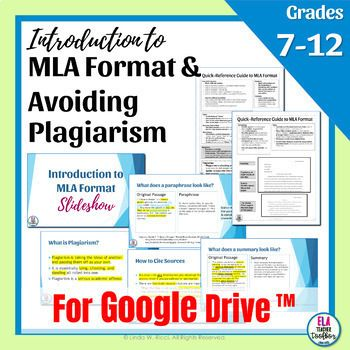 Mla Format Avoiding Plagiarism Interactive Slideshow Distance Learning Good Transition Word For Essays How To Cite A Source You Paraphrase