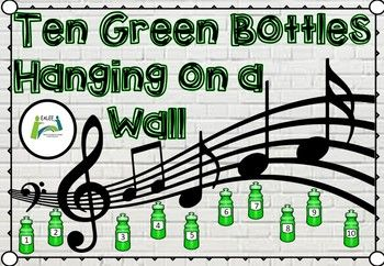 Ten Green Bottles Esl Eal Ell Song Teaching Numbers Esl Teaching Resources Homeschool Programs